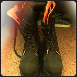 Dollskill Combat Boots Size 6